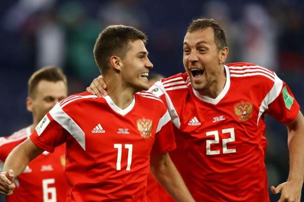 Russia beats Egypt and leaves the group ahead of time
