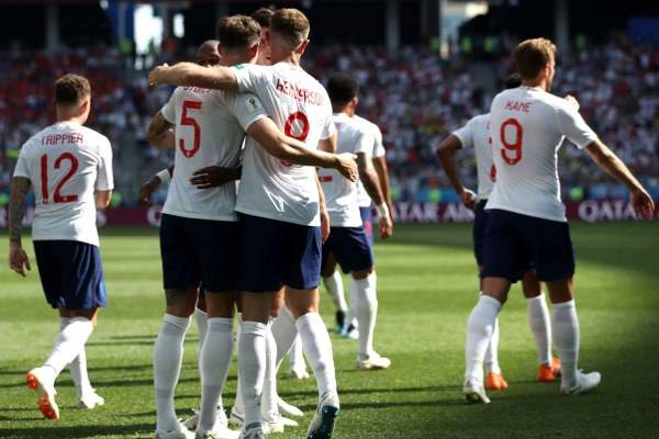 England defeated Panama 6:1