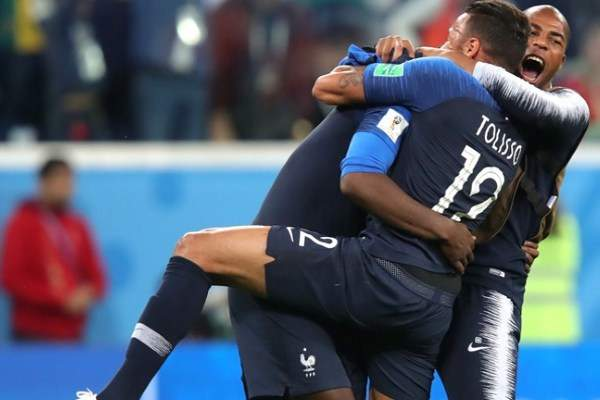 France goes to the finals of the world Cup