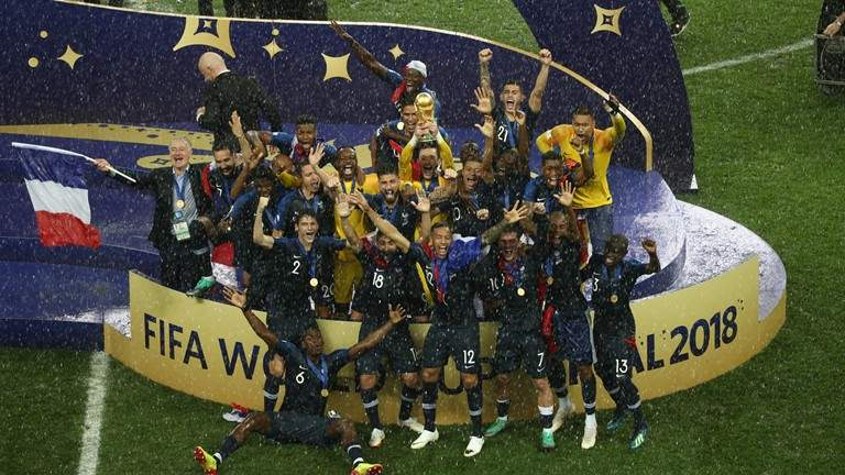 France for the second time in history won the FIFA World Cup